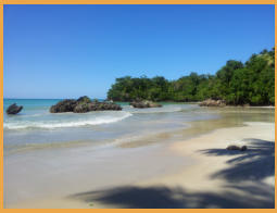 Las-Terrenas Dominican Republic Candy Houses